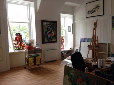 Rosemary Beaton New Studio 2015